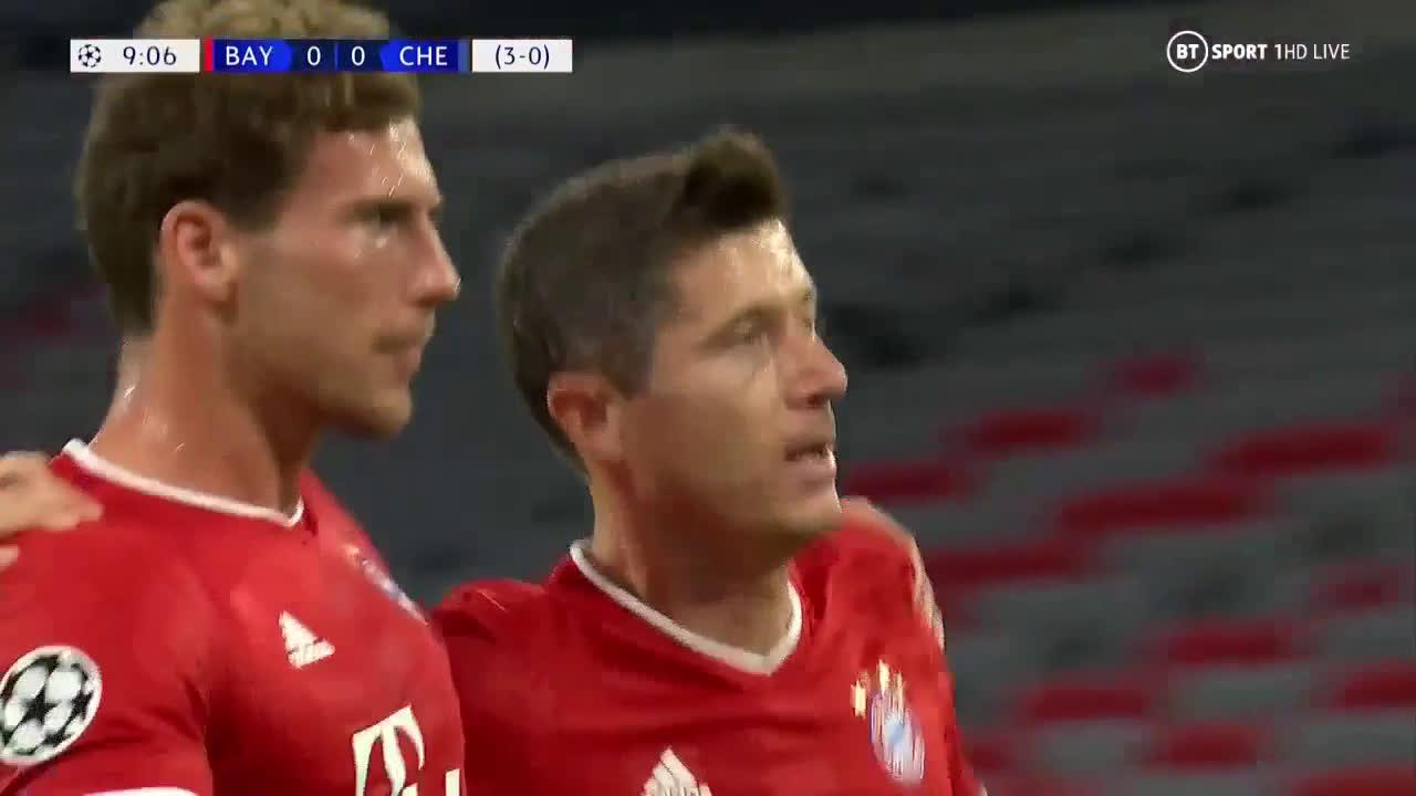 Resume Bayern Chelsea 4 1 Butsoccers