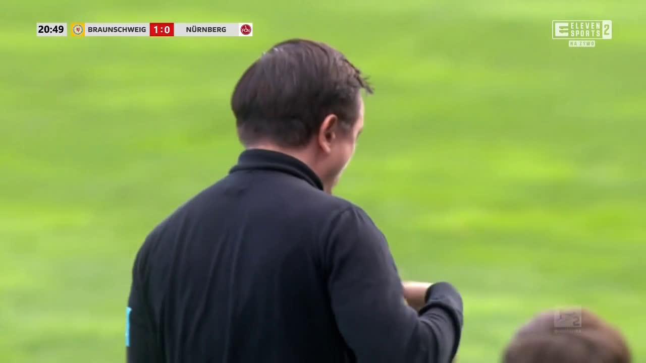 Eintracht Braunschweig 1-0 Nürnberg - Yassin Ben Balla 21' great goal